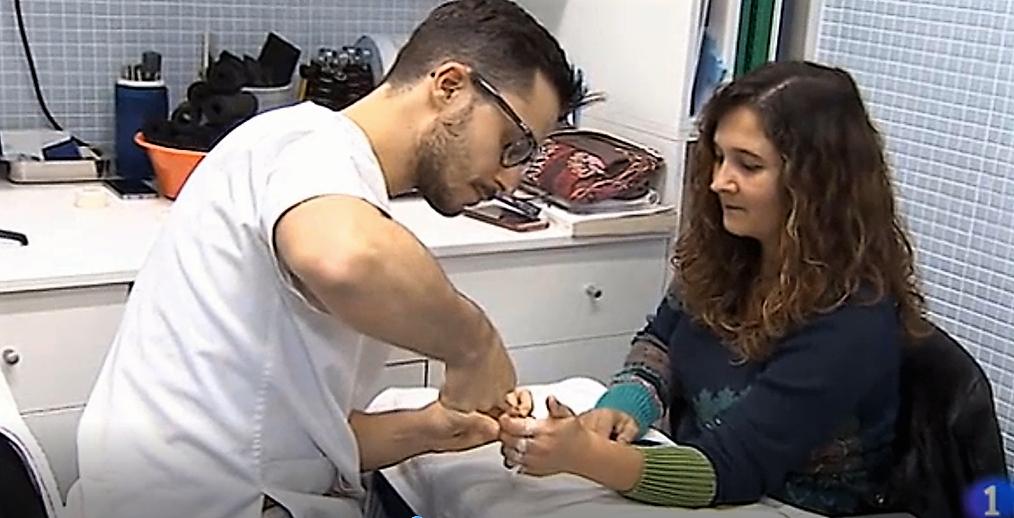Rehabilitación en la clínica de Piñal y Asociados en Santander, caso de Lucía