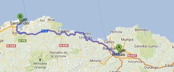 Desde Bilbao a la Clínica Dr. Piñal
