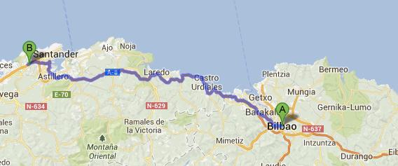 Desde Bilbao a la Clínica Mompía