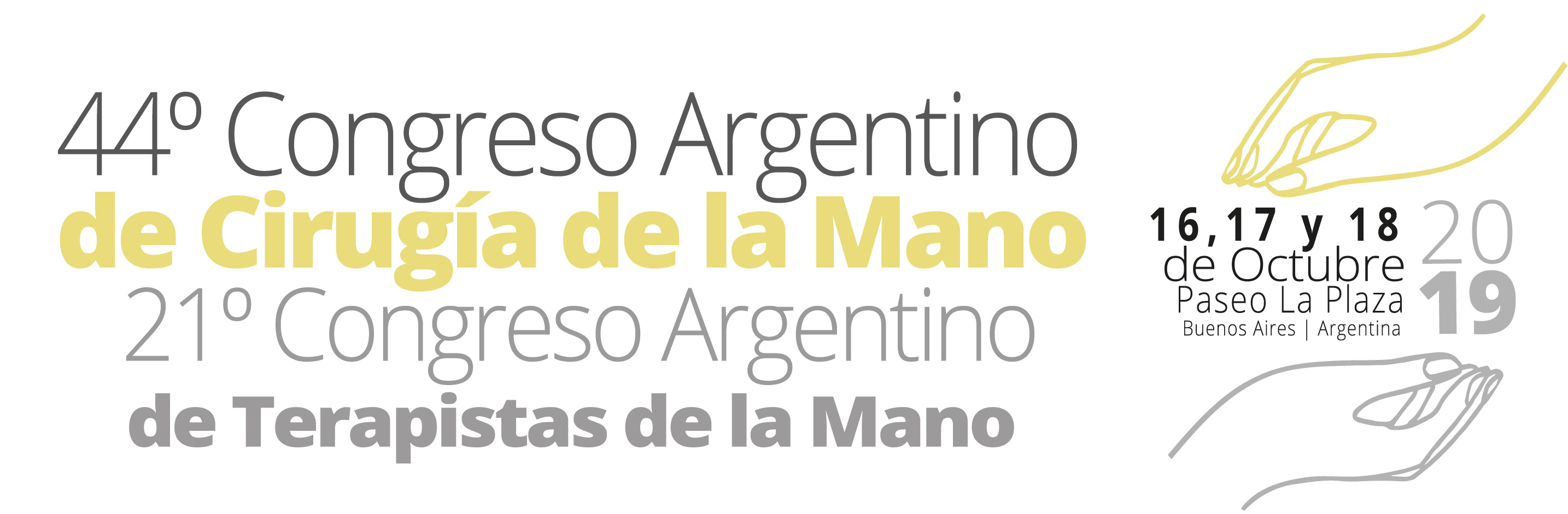 44th edition of the Argentine Congress of Hand Surgery